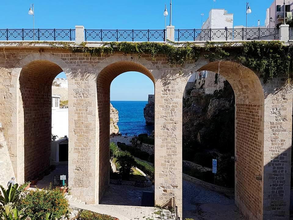 Polignano a Mare - Puglia - Ponte Monachile - Estrada Traiana - Blog Vou pra Roma