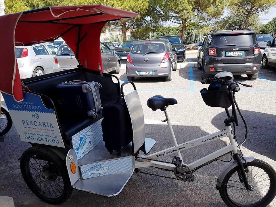 Riscio - triciclo para ir até o centro histórico - Blog Vou pra Roma