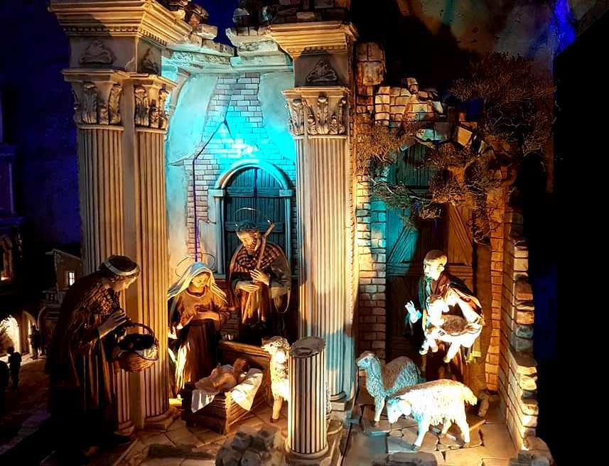 Exposição 100 Presepi - Presepios no Natal em Roma - Blog Vou-pra-Roma