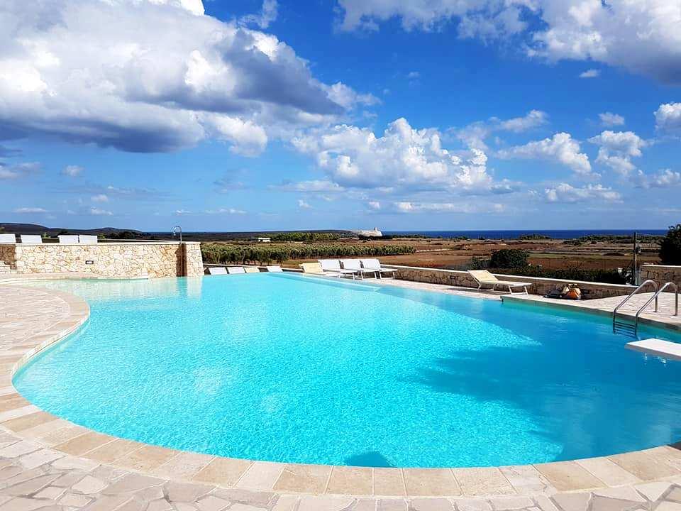 Masseria Panareo - piscina - Blog Vou pra Roma