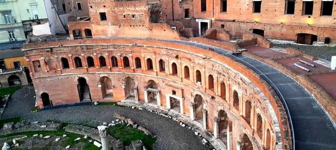 Imperador Traiano, Fórum e Mercado em Roma