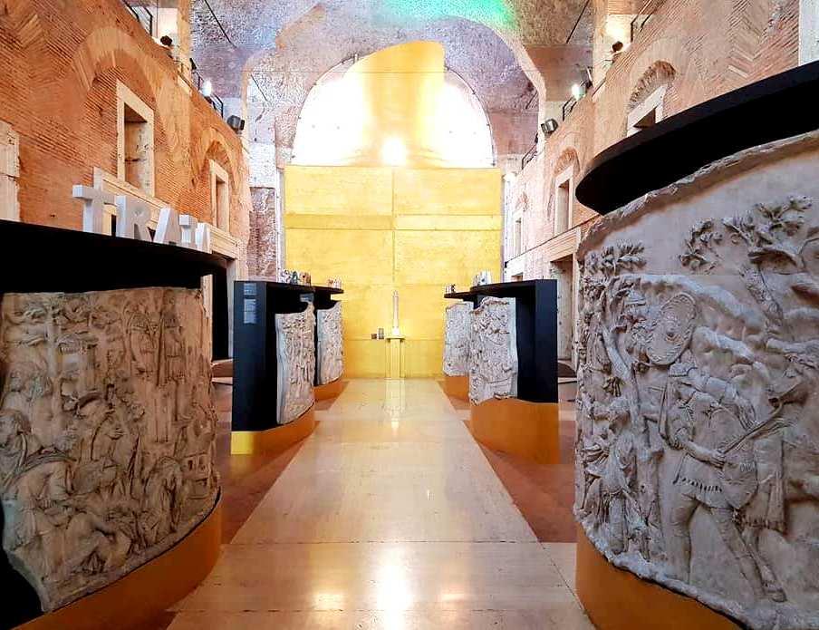 Mercados de Traiano - Coluna de Traiano - Blog Vou pra Roma