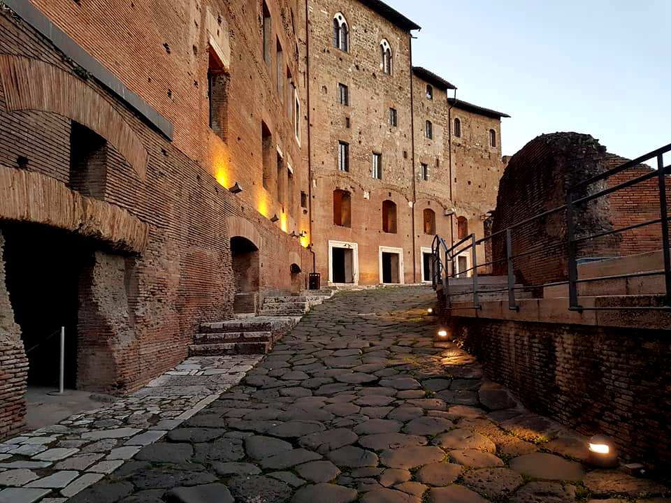 Mercados de Traiano - Imperio Romano - Roma - Blog Vou pra Roma