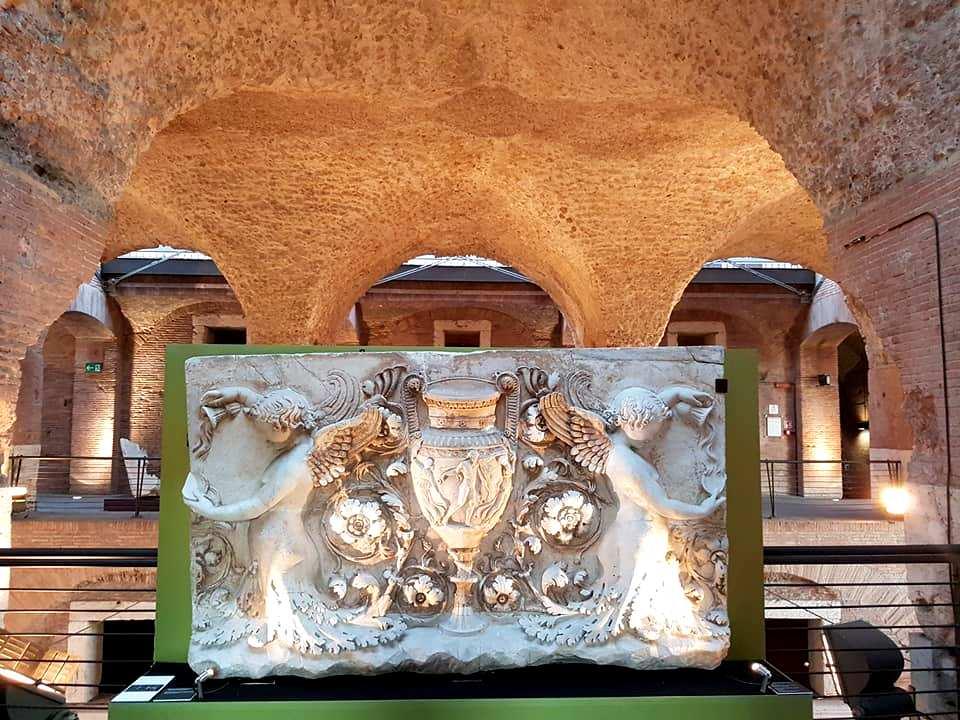 Mercados de Traiano - detalhes - Roma - Blog Vou pra Roma