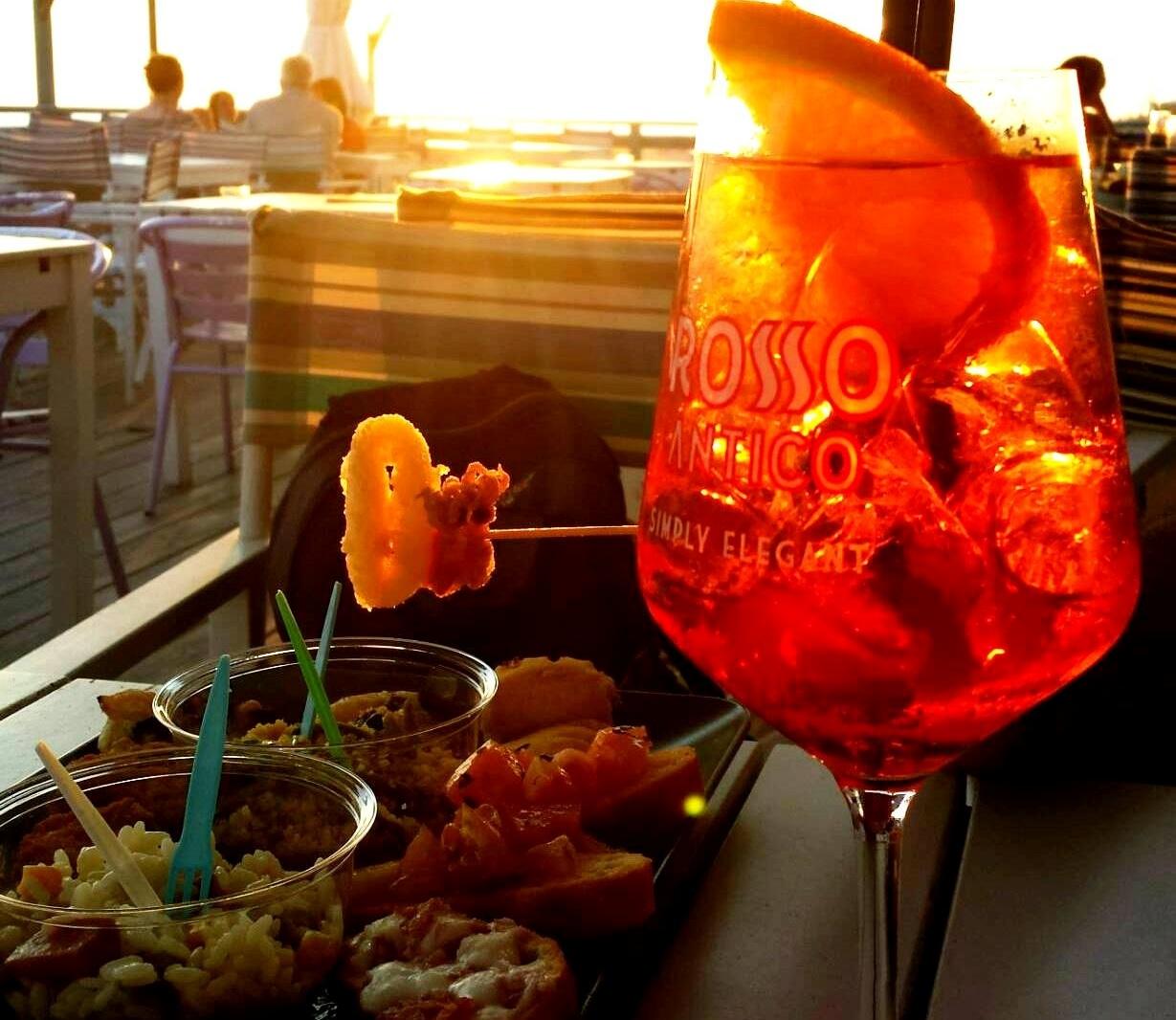 Praia em Roma - por do sol verão - blog Vou pra Roma