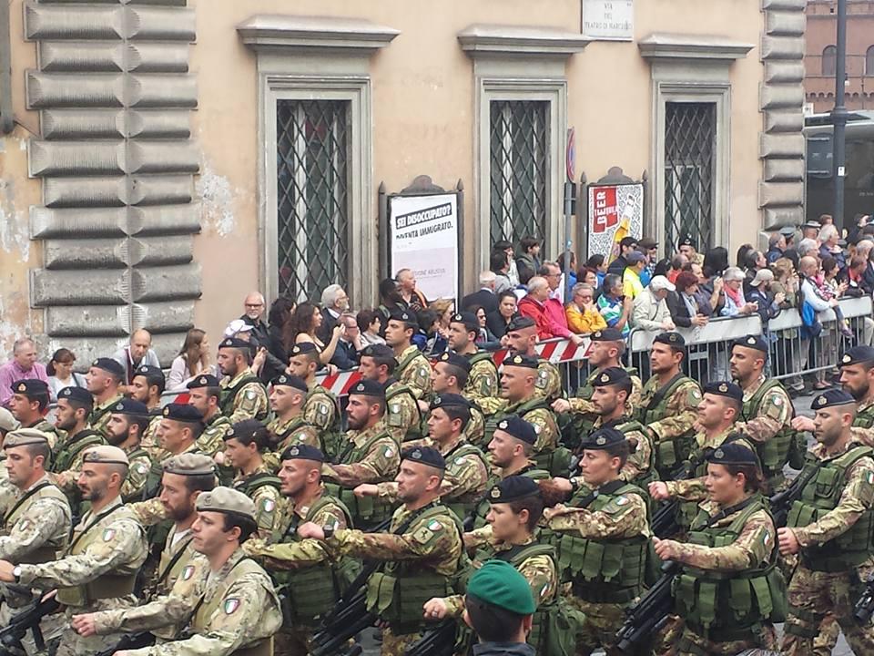 parada militar -republica italiana-Blog Vou pra Roma