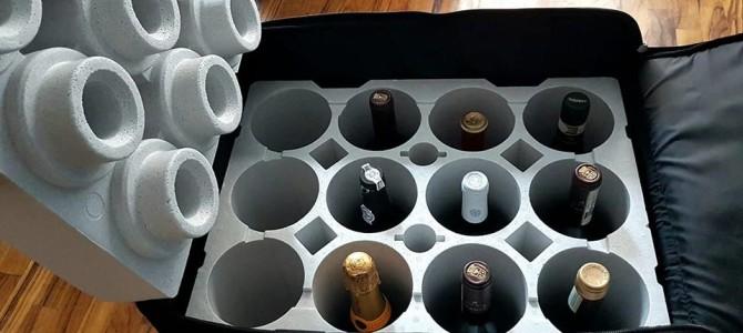 Como levar vinhos na mala